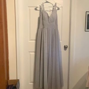 Dresses & Skirts - Beautiful Beaded Gray Gown